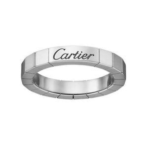 Cartier Lanieres 18kt white gold ring